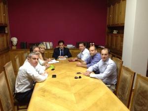Το ΔΣ της Ένωσης Ιατρών ΕΟΠΥΥ με τον Υπουργό Υγείας Α. Γεωργιάδη